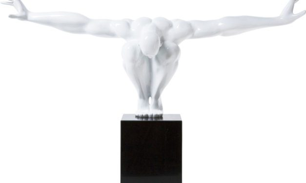 KARE DESIGN Skulptur, Athlet White