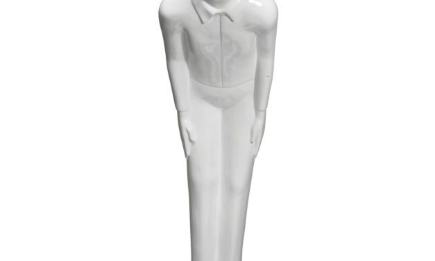 KARE DESIGN Skulptur, Welcome Guests White Big