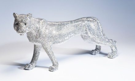 KARE DESIGN Skulptur, Leopard Glitter