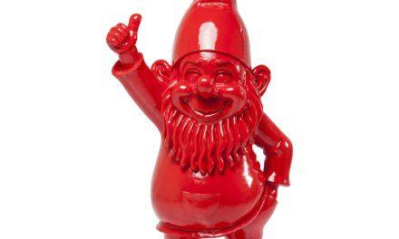 KARE DESIGN Skulptur, Zwerg Red