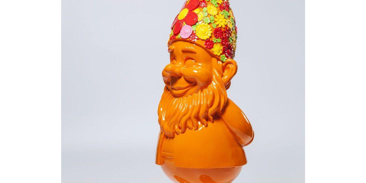 KARE DESIGN Skulptur, Gnome Flower Power