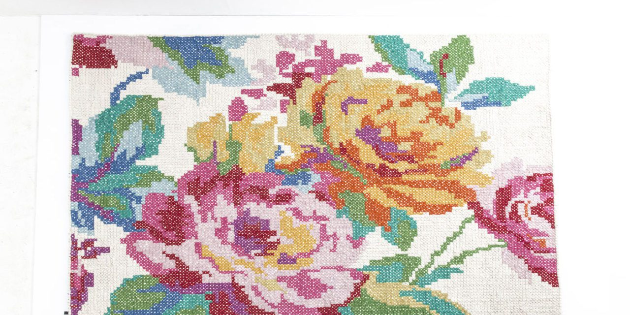 KARE DESIGN Tæppe, Rosegarden 170x240cm