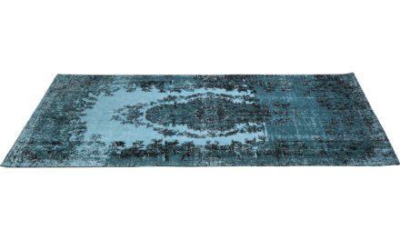KARE DESIGN Tæppe, Kelim Pop Turquoise 200x300cm