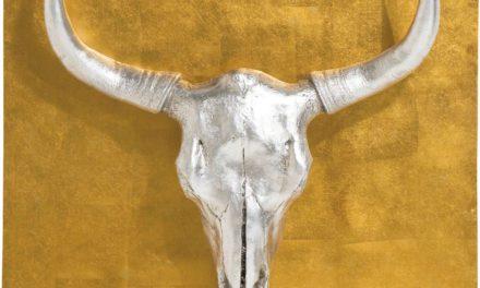 KARE DESIGN vægdekoration, Bison 80x80cm