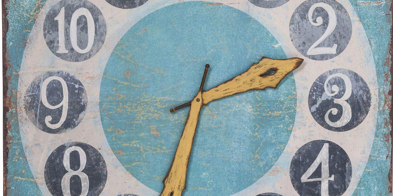 KARE DESIGN Time is Colorful Vægur