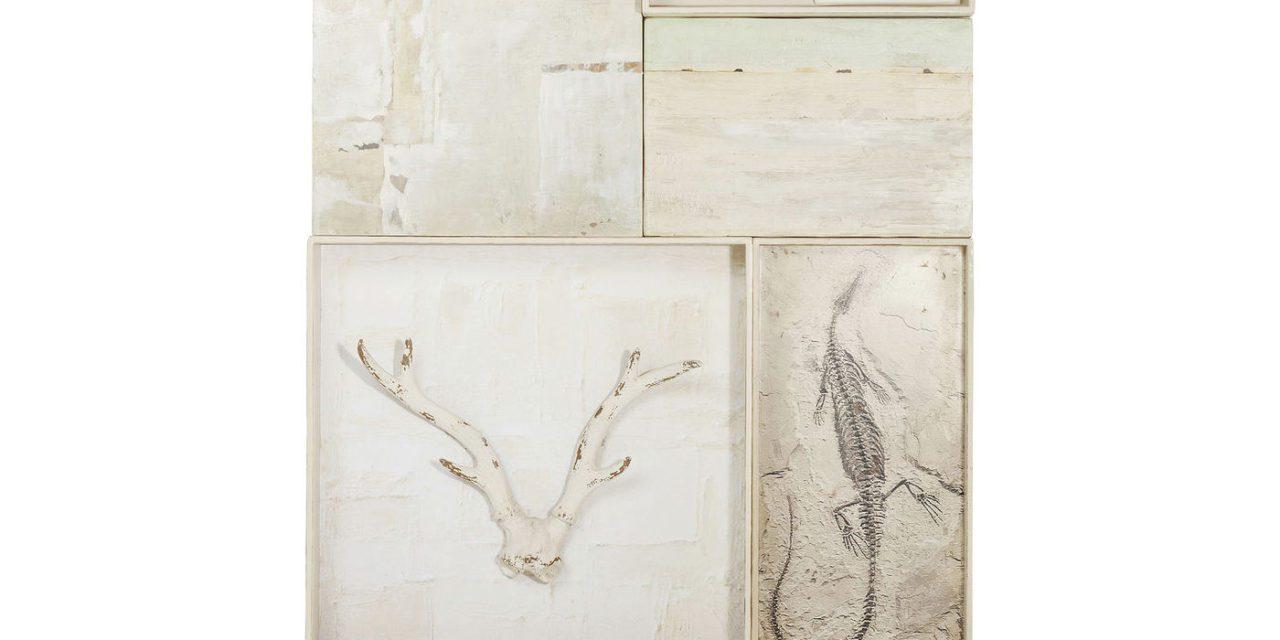 KARE DESIGN vægdekoration, Nature Skull