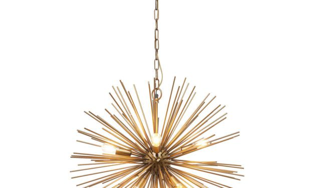 KARE DESIGN Loftslampe, Beam Brass