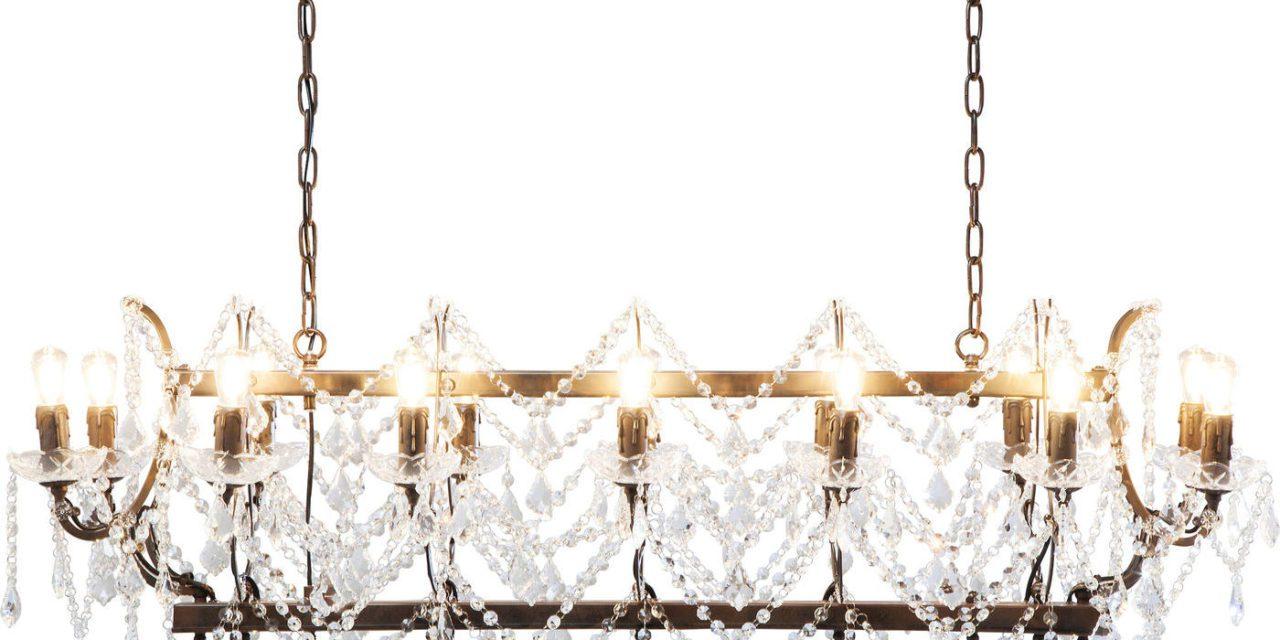 KARE DESIGN Loftslampe, Chateau Crystal Rusty