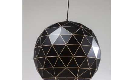 KARE DESIGN Loftslampe, Triangle Black