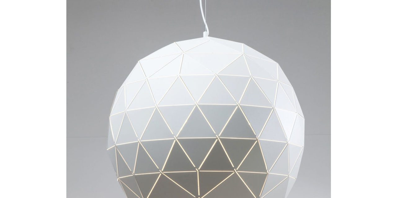 KARE DESIGN Loftslampe, Triangle White