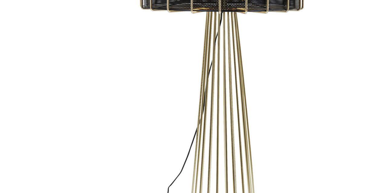 KARE DESIGN Gulvlampe, Wire Bowl