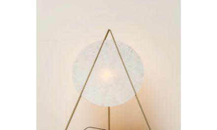 KARE DESIGN Gulvlampe, Triangle Marble White
