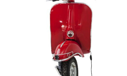 KARE DESIGN Væglampe, Scooter Red