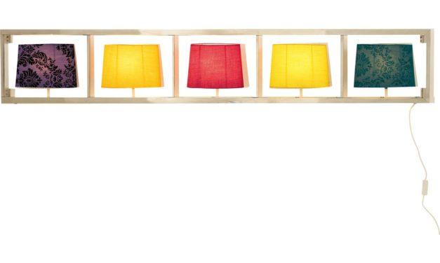 KARE DESIGN Væglampe, Parecchil, horisontal, krom