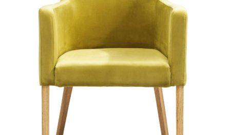 KARE DESIGN Spisebordsstol m. armlæn, Mode Velvet Green
