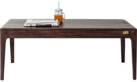 KARE DESIGN Brooklyn Walnut Sofabord, 115x60cm