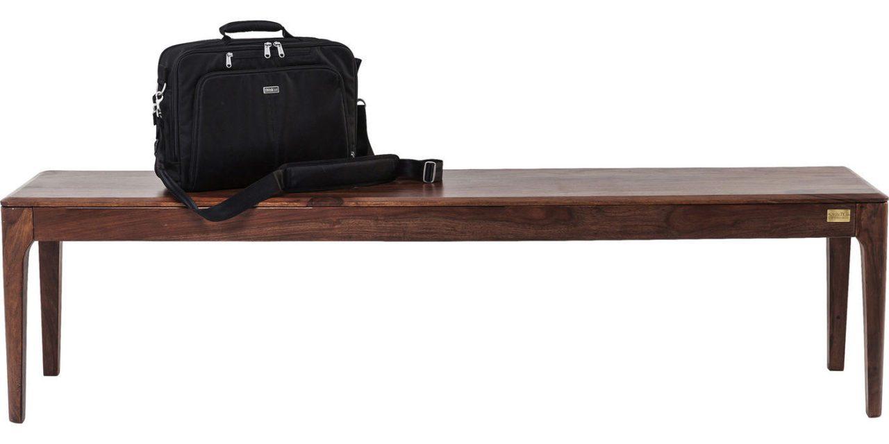 KARE DESIGN Brooklyn Walnut Bænk, 175 cm