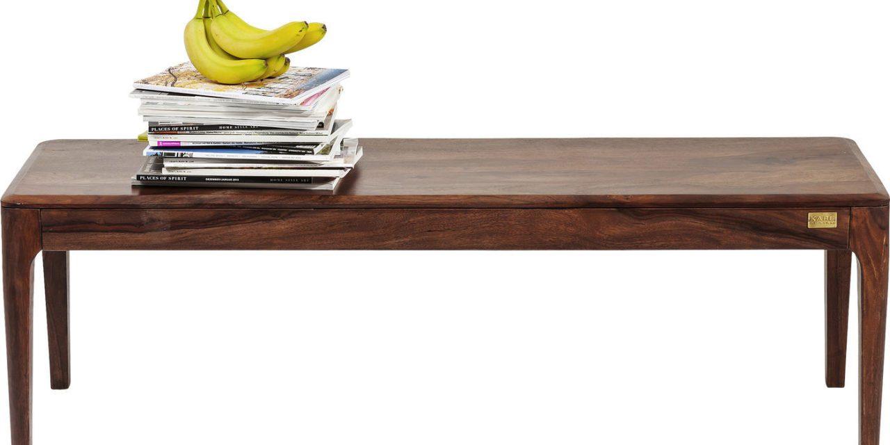 KARE DESIGN Brooklyn Walnut Entrebænk, 140cm
