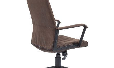 KARE DESIGN Kontorstol, Labora High Brown