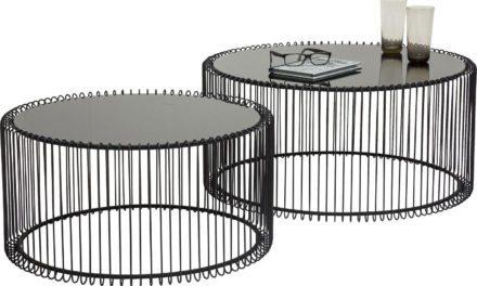KARE DESIGN Sofabord, Wire Black
