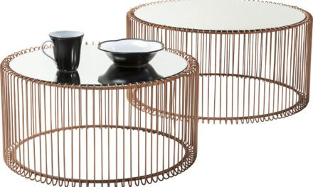 KARE DESIGN Sofabord, Wire Copper