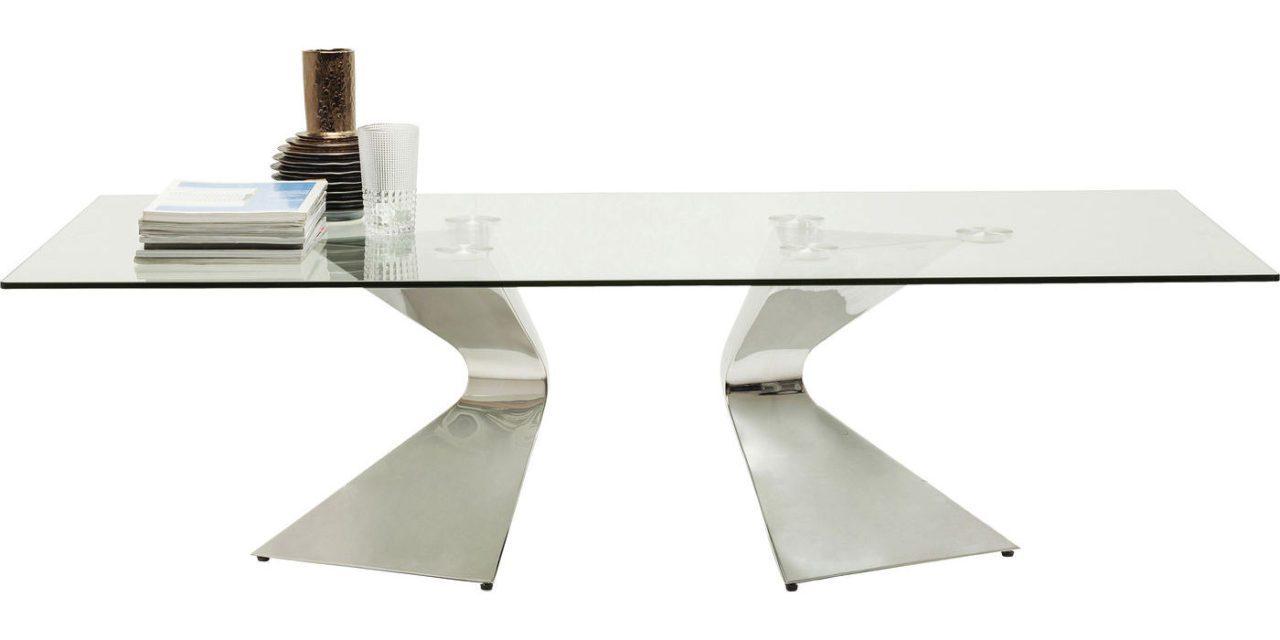 KARE DESIGN Sofabord, Gloria Chrome 140x82cm