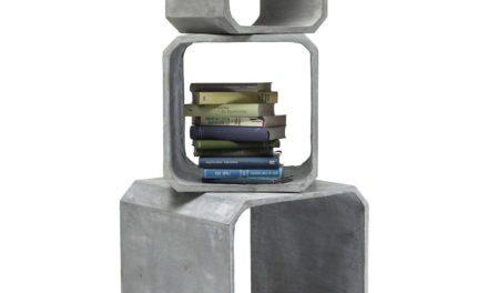 KARE DESIGN Cube Square Concrete Reol