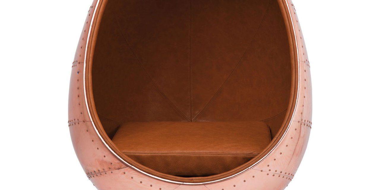 KARE DESIGN Drejestol, Eye Ball Copper