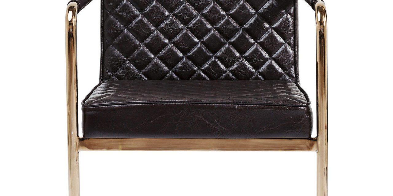 KARE DESIGN Cantilever Spisebordsstol med armlæn, Beverly