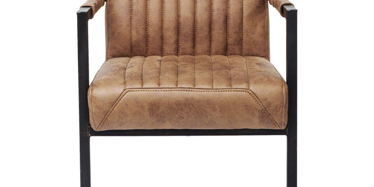 KARE DESIGN Cantilever Spisebordsstol med armlæn, Liberty
