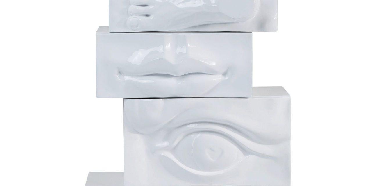 KARE DESIGN Kommode, Body Art White