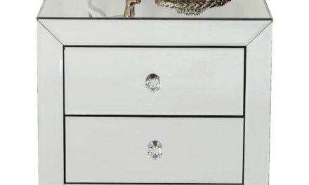 KARE DESIGN Luxury Natbord m. 2 skuffer – sølv