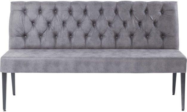 KARE DESIGN Polstret Bænk, Vintage Grey