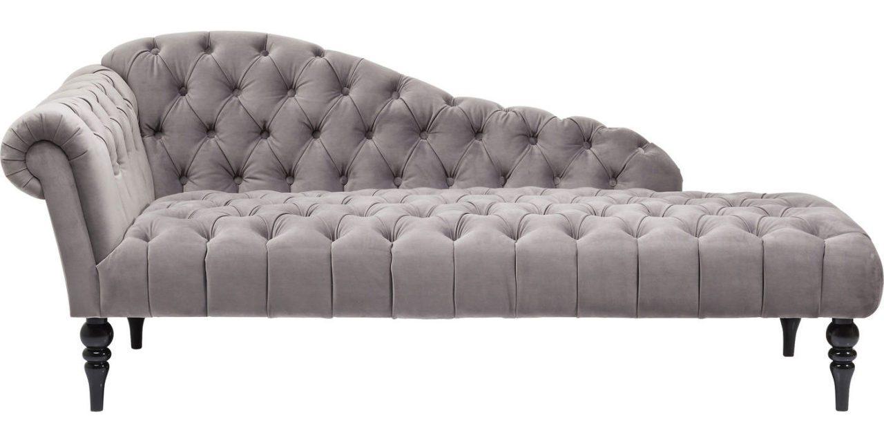 KARE DESIGN Sofabænk, Desire Recamiere , Fløjl
