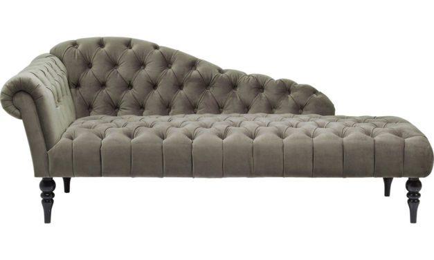 KARE DESIGN Sofabænk, Desire Velvet Khaki, Fløjl