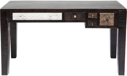 Kare Design Finca skrivebord i flot mangotræ
