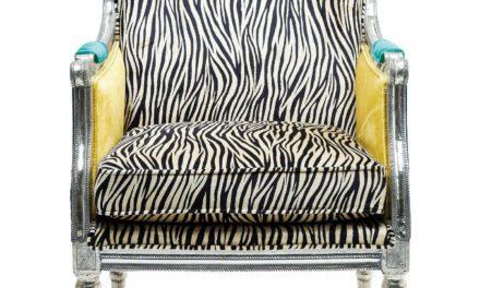 KARE DESIGN Hvilestol m. Armlæn, Regency Zebra