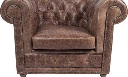 KARE DESIGN Hvilestol m. Armlæn, Oxford Vintage Deluxe