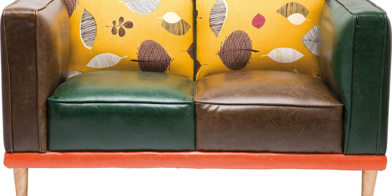 KARE DESIGN Sofa, Leaf 2 pers.