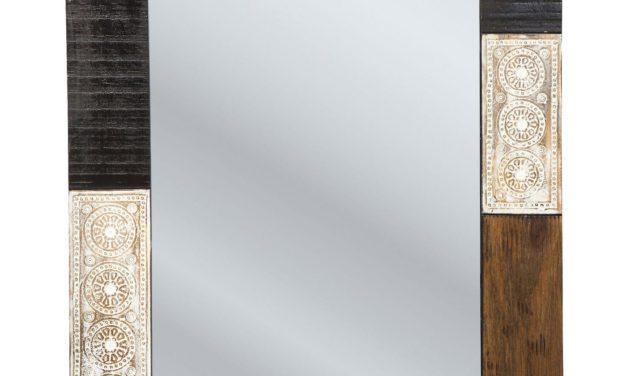 Tidløst Finca spejl i spejlglas fra Kare Design