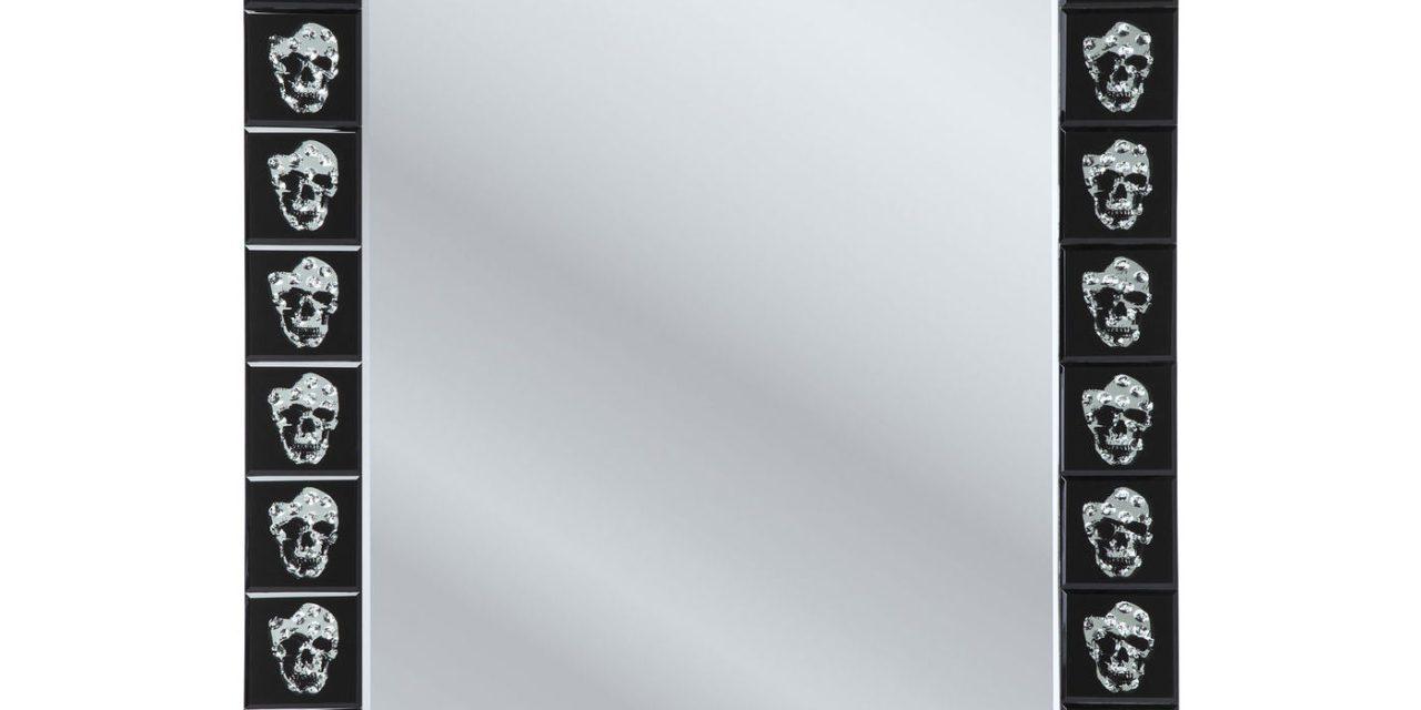 KARE DESIGN Spejl, Skull Movie 120x80cm