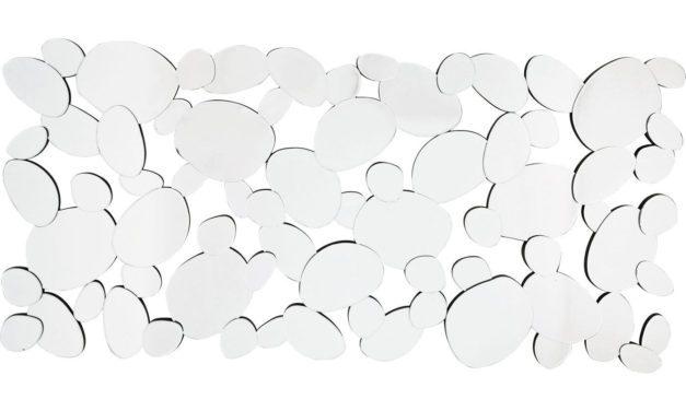 KARE DESIGN Spejl, Water Drops 150x71cm