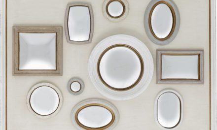 KARE DESIGN Spejl, Collage m. Ramme White 130x170cm