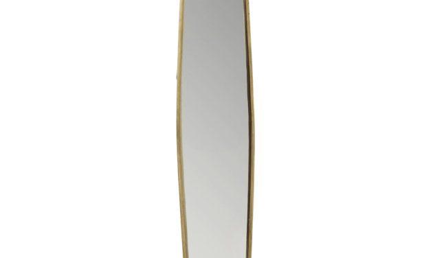 KARE DESIGN Spejl, Clip Brass 177x32cm