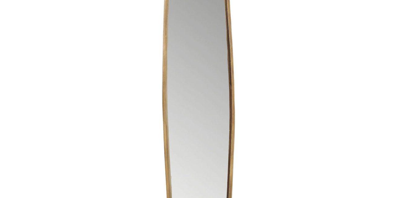 KARE DESIGN Spejl, Clip Copper 177x32cm