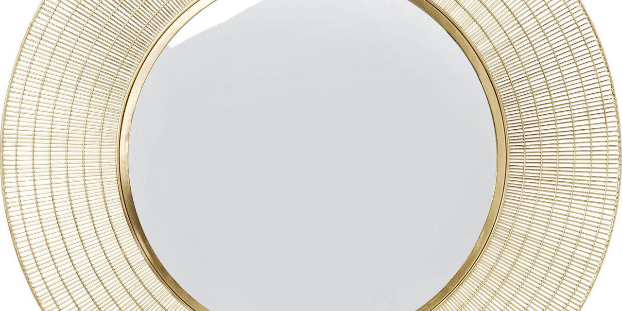KARE DESIGN Spejl, Nimbus Brass