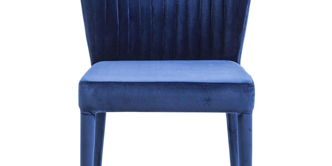 KARE DESIGN Spisebordsstol, Cosmos Blue