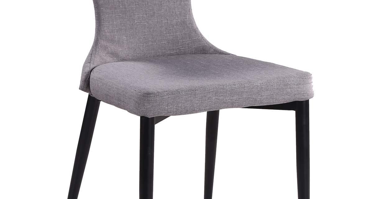Freja spisebordsstol, grå/sort