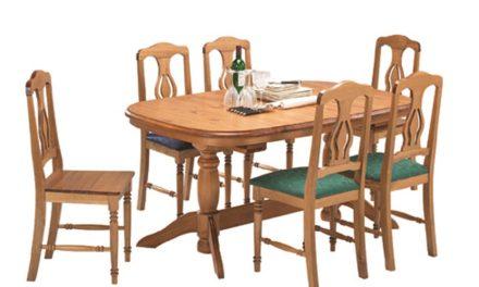 Malmø spisebord med udtræk
