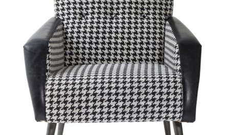 KARE DESIGN Sessel black and white hvilestol